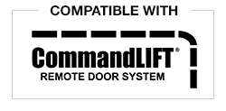 Compatible with CommandLIFT