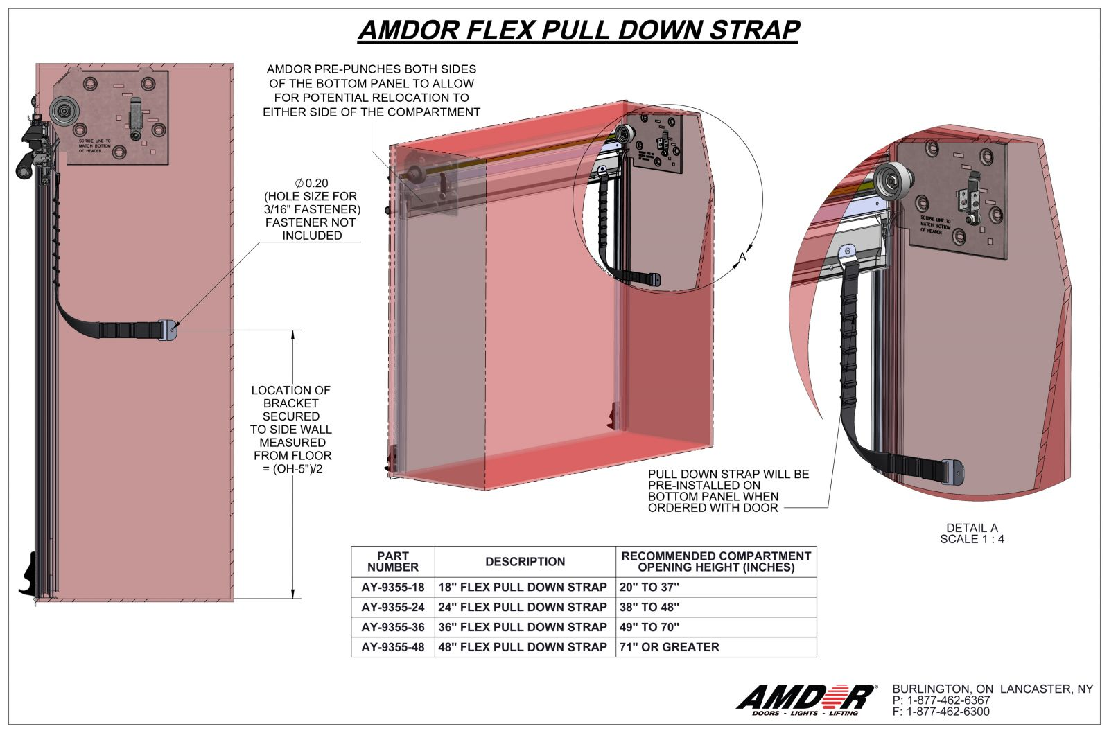 Flex HD Pull Strap Installation Instructions - AMDOR