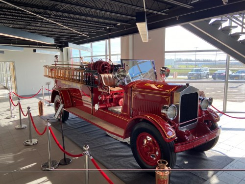 A Beautiful Fire Apparatus Then, And Again