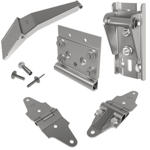 Interior Stainless Steel Hardware Package